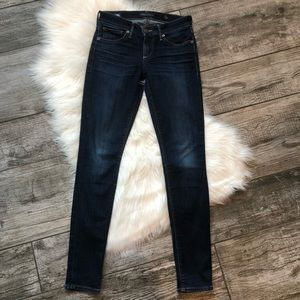 Lucky Brand Stella Skinny Jeans in Twilight Blue